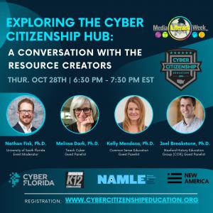 Cyber Citizenship Hub Announcement